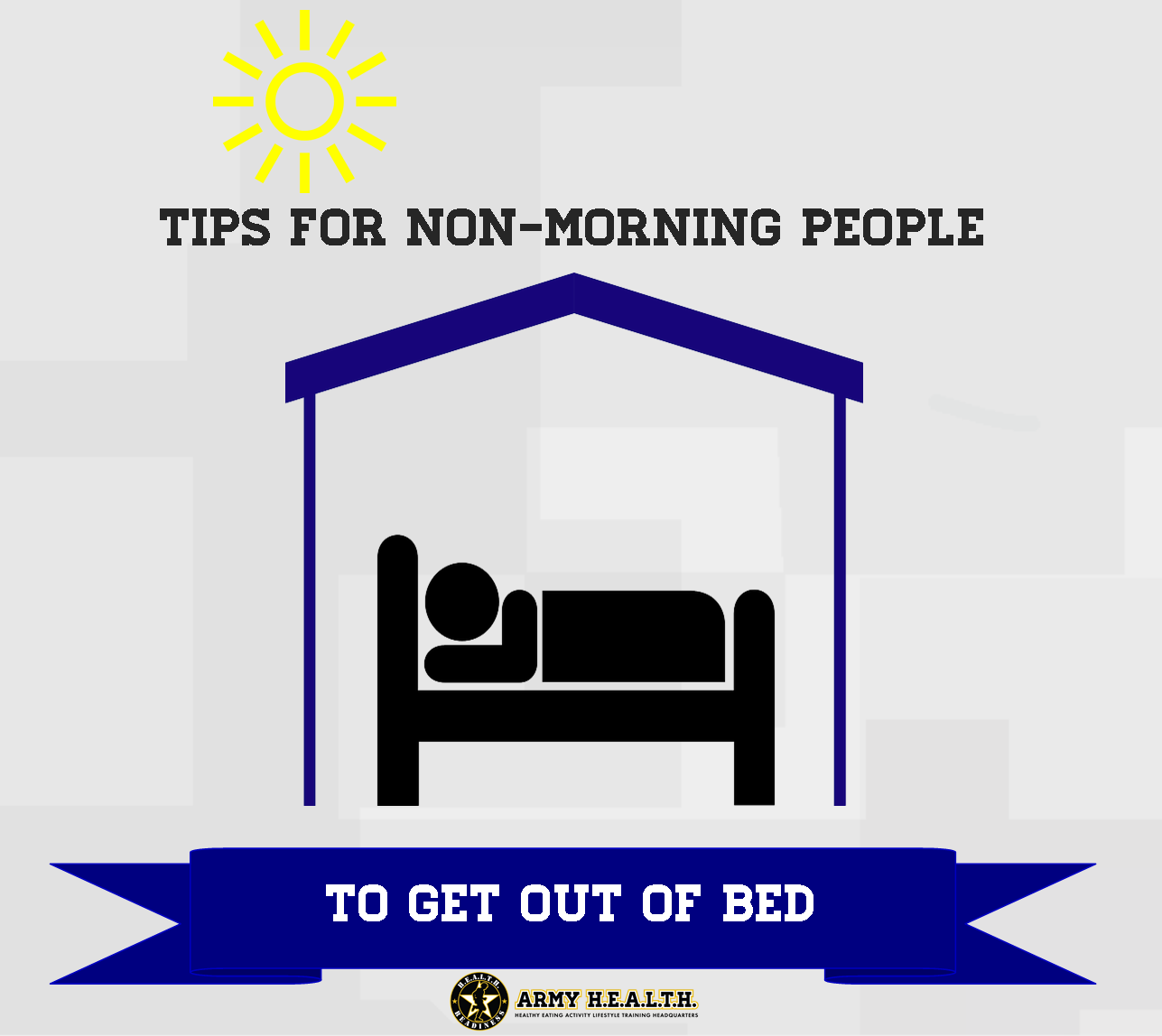 Tips to help non-morning people get out of bed