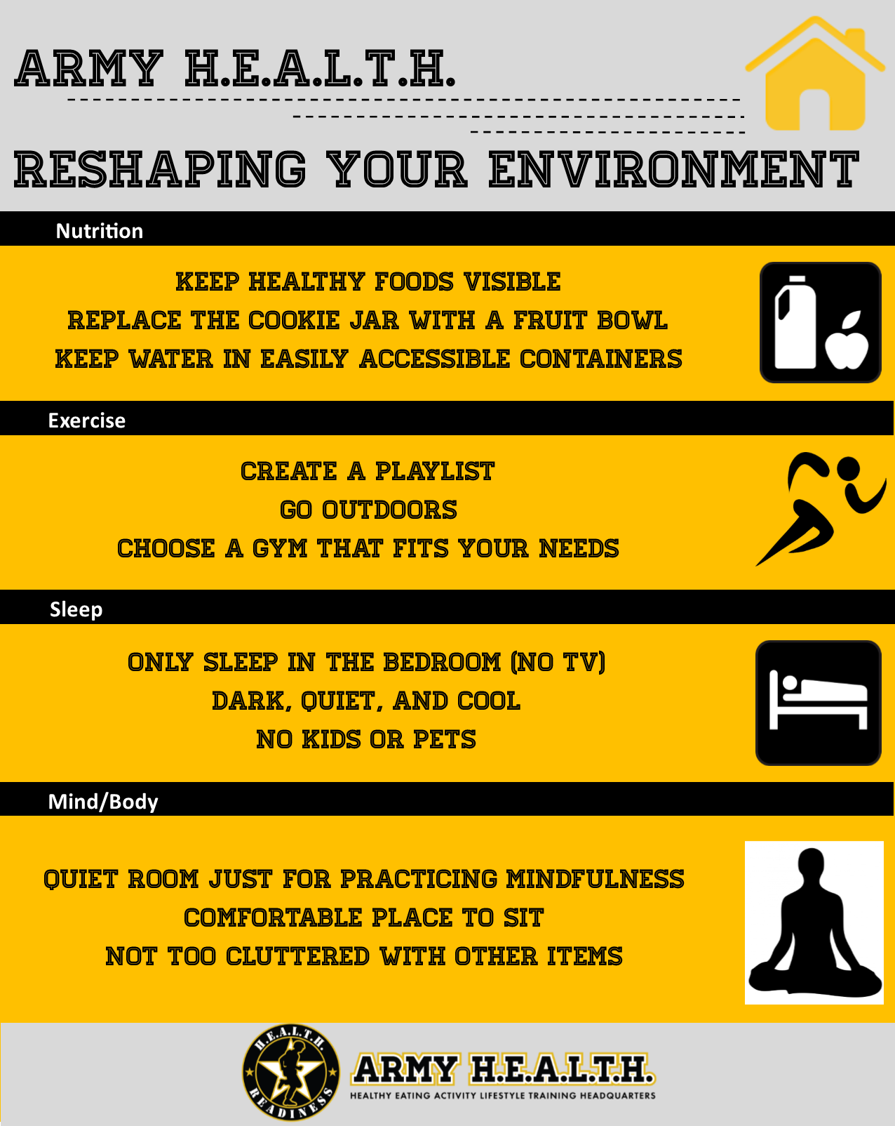 Reshaping Your Environment: Get the most out of your space