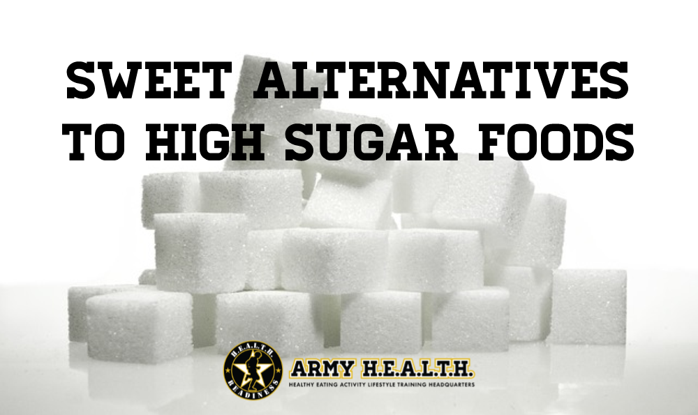 Sweet Alternatives to High Sugar Foods