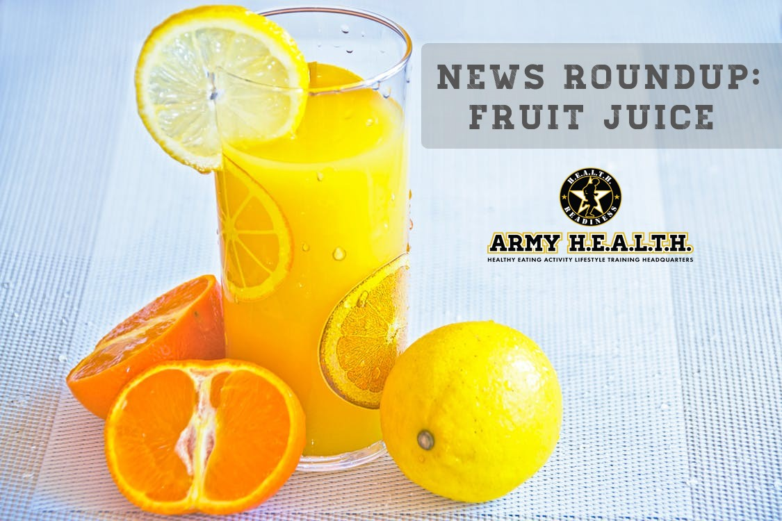News Roundup: New Fruit Juice Guidelines for Babies